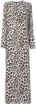 Equipment leopard print maxi dress