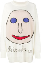Christopher Kane Reisenbauer intarsia sweater - women - Cotton/Nylon/Mohair/Virgin Wool - M