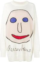 Christopher Kane Reisenbauer intarsia sweater - women - Cotton/Nylon/Mohair/Virgin Wool - XS