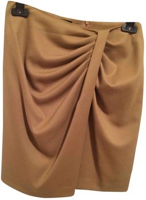 Pinko Camel Skirt for Women