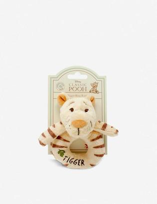 Winnie The Pooh Hundred Acre Wood Disney Tigger plush ring rattle 12cm