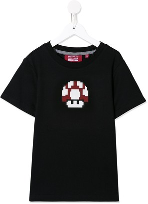 Mostly Heard Rarely Seen 8-Bit 8-bit mushroom T-shirt