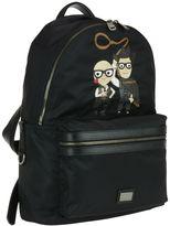 Dolce & Gabbana Designers Detail Backpack