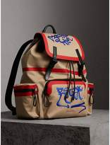 Burberry x Kris Wu The Extra Large Rucksack