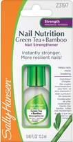 Sally Hansen Nail Nutrition Green Tea plus Bamboo Nail Strengthener, 0.45 Fluid Ounce