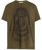 Givenchy Dollar-print cotton-jersey T-shirt
