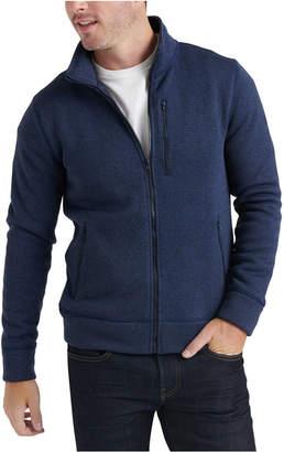 Lucky Brand Men Miles Zip-Front Sweater
