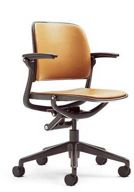 Steelcase Cachet Desk Chair Fabric Options: Back and Seat Fabric, Upholstery: Buzz2 - Black, Casters: Carpet Casters