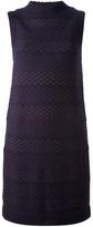 M Missoni knitted textured striped dress