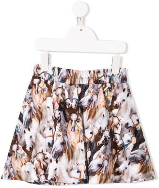 Molo Best in Show print skirt