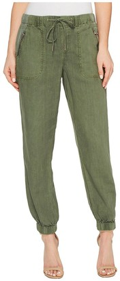 Blank NYC Women's Linen Drawstring Trousers
