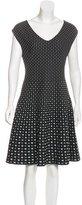 Louis Vuitton Patterned A-Line Dress