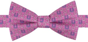 Tommy Hilfiger Men's Derby Horseshoe Pre-Tied Silk Bow Tie