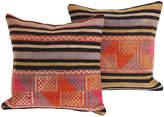 One Kings Lane Vintage Striped Turkish Kilim Cushions