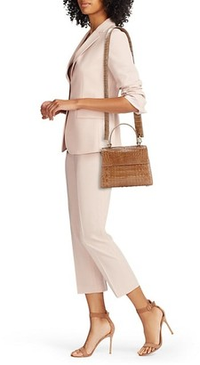 Nancy Gonzalez Small Lexi Crocodile Top Handle Bag