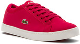 Lacoste Girls' Straightset Lace 316 3 Junior