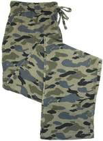 Hanes Men's Big & Tall Cotton Camo Print Pajama Pants
