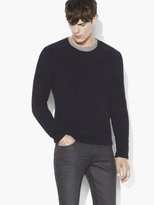 John Varvatos Knit Crewneck Sweater