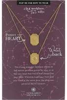 Dogeared Protect My Heart, Watch My Back, Protection Scapular Necklace Necklace