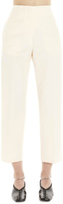 Jil Sander High-Waisted Cropped Trousers