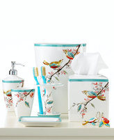 Lenox Simply Fine Bath Accessories, Chirp Soap and Lotion Dispenser