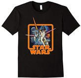 Star Wars Classic A New Hope Movie Badge Graphic T-Shirt