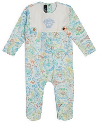 Versace Kids Baroque Print All-In-One (3-18 Months)