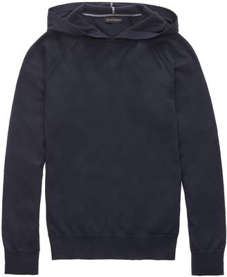 Banana Republic Supima Cotton Sweater Hoodie