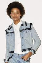 CONTEMPORARY Pompom Denim Jacket