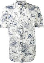 Gucci Sea Storm print shirt - men - Cotton - 38