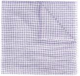 Brioni fringed scarf - men - Silk/Linen/Flax - One Size