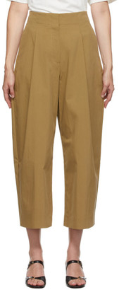 Studio Nicholson Brown Dordoni Volume Trousers
