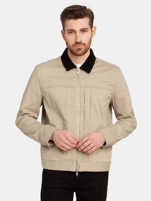 BLDWN Noah Suede Collar Jacket
