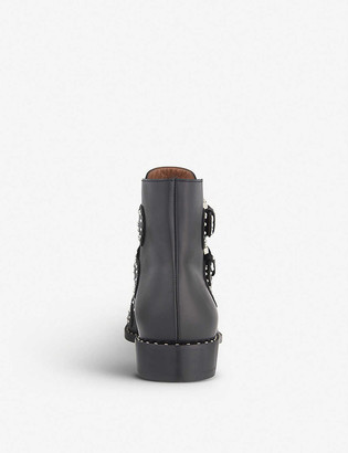 Givenchy Prue leather ankle boots
