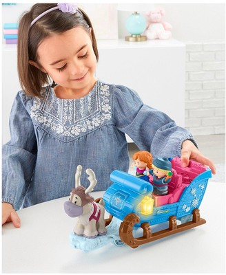 Fisher Price Little People Fisher-Price Little People Disney Frozen Kristoff'S Sleigh