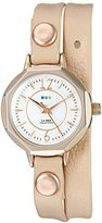 La Mer Women's LMDELMARDW1507 Analog Display Japanese Quartz Rose Gold Watch