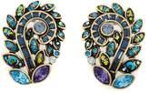 """Heidi Daus Couture in Bloom"""" Crystal Earrings"""