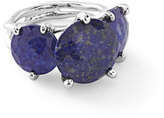 Ippolita 925 Rock Candy 3-Stone Ring in Lapis Doublet