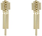French Connection Pyramid Stud Linear Chandelier Earrings Earring