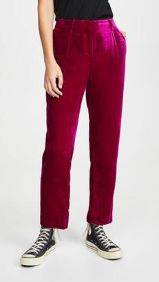 MKT Studio Puedo Velvet Trousers