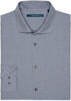 Perry Ellis Iridescent Textured Dash Stitch Shirt
