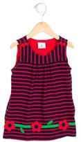 Florence Eiseman Girls' Sleeveless Striped Dress