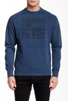 Barbour International Flags Crew Neck Sweater