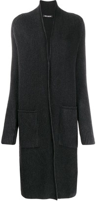 Iris von Arnim Ribbed Cardi-Coat