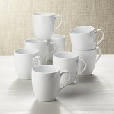 Crate & Barrel Set of 8 Essential Mugs