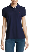 U.S. Polo Assn. Quick Dry Short Sleeve Knit Polo Shirt