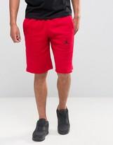Nike Jordan Jumpman Flight Shorts In Red 824020-687