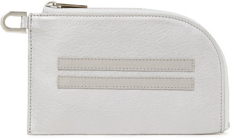 Rick Owens Pebbled-leather Key Wallet