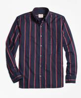 Brooks Brothers Regal Stripe Flannel Sport Shirt