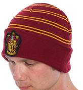 Harry Potter All Houses Cuff Beanie Ravenclaw Hufflepuff Slytherin